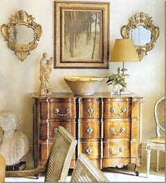 beautiful antique French commode