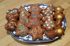 Gingerbread Cookies, Cooking Recipes, Pudding, Chicken, Desserts, Food, Basket, Gingerbread Cupcakes, Tailgate Desserts