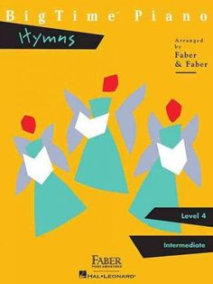BigTime Piano Hymns: Level 4: Intermediate (Paperback), Black