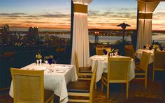 Mr. A's restaurant, amazing dining location in San Diego
