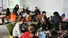 Inaugurata la prima aula digitale 3.0 di Milano
