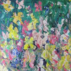 Buy Irises in the Woodland Garden, Oil painting by Jenny Hare on Artfinder. Discover thousands of other original paintings, prints, sculptures and photography from independent artists.