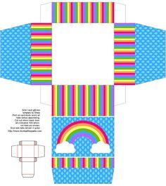 Caja arcoiris.
