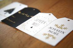 Etiquettes imprimables cadeaux de Noël