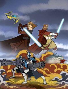 Clone Wars | Freakcionario: Star Wars: Clone wars