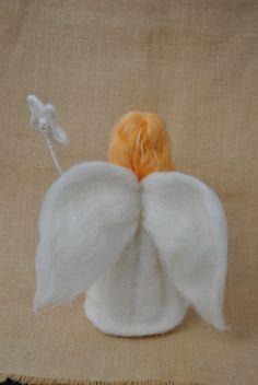 Waldorf de Ángel de la guarda aguja inspiradora suave muñeca