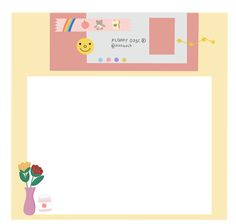 Artsy Background, Cute Food Drawings, Sticker Organization, Photo Collage Template, Memo Notepad, Note Doodles, Pen Pal Letters, Cute Frames, Cute Notes