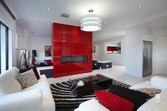 Living room area. The Montrose display home design by #VenturaHomes #interiordesign