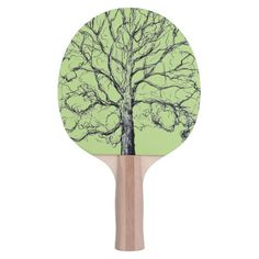 Shop Green Sketched Tree Paddle created by BeeHappyNow. Indoor Games, Indoor Activities, Backyard Sports, Ping Pong Paddles, Photo Blocks, Your Design, Print Design, Green, Prints