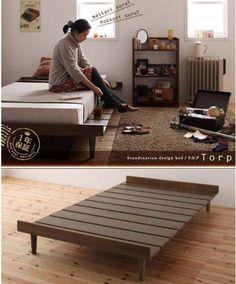 Nordic Bed スノコベッド すのこ 北欧家具 北欧風 シングルベッドTOswgz インテリア 雑貨 Modern ¥18800yen 〆09月30日