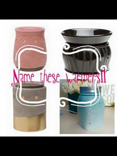 Can you name these ?