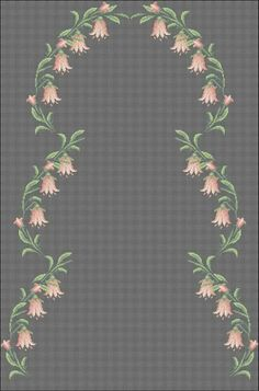 Cross Stitch Flowers, Cross Stitch Patterns, Knitted Baby Blankets, Baby Knitting, Embroidery, Cross Stitch Embroidery, Towels, Punto De Cruz, Dots