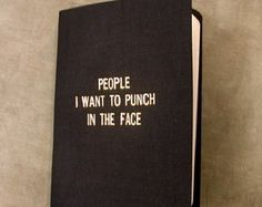 Rude little black book by 27thStreetPress on Etsy
