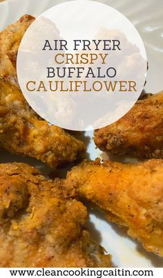 This crispy buffalo cauliflower is better and crispier than any other air fried buffalo cauliflower recipe you will find | air fryer recipes | healthy air fryer recipes | air fryer cauliflower recipes | air fryer buffalo cauliflower | healthy air fryer cauliflower recipes #airfryerrecipes #airfryercauliflower Vegan Dinner Recipes, Lunch Recipes, Vegetarian Recipes, Healthy Recipes, Healthy Fries, Air Fryer Healthy, Buffalo Cauliflower, Lunch Meal Prep, Dinner Dishes