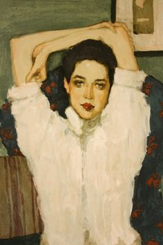I own this print, it sits above my fireplace. by Malcolm Liepke