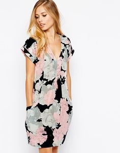 Whistles Adrianne Dress in Rosewater Print