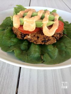 These Black Bean Burgers are the BEST black bean burgers I've ever tried! If you need a healthy, meatless and delicious meal you need to try these!