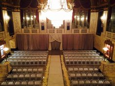 Ceremony in the Grand Foyer