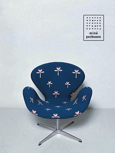 MINA PERHONEN & FRITZ HANSEN, CHAIR 2004: japanese textile/fashion designer meets danish furniture designer. fireworks.
