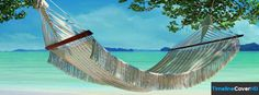 Hammock At Beach Facebook Cover 2013 850x314 Facebook Covers - Timeline Cover HD