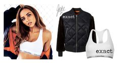 """""""jade photoshoot for fabulous magazine"""" by leigh-jena ❤ liked on Polyvore featuring Calvin Klein"""