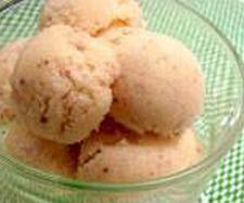 Receita Gelado de pêssego por Equipa Bimby - Categoria da receita Sobremesas