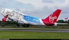 Star Wars Aircraft, Manchester Airport, Virgin Atlantic, Boeing 747 200, Flight Deck, Photo Online, Aviation, International Airport, Colours
