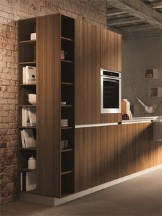 Hideaway wall-mounted #kitchen BOARD by @Snaidero Cucine | #design Pietro Arosio #interiors