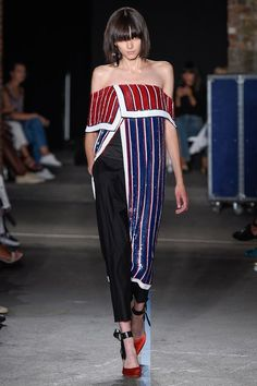 View the complete Monse Spring 2017 collection from New York Fashion Week.