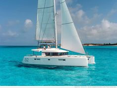 Experience the bright blue waters if the Aegean Sea in a whole new way with a private yacht rental from Sunset Oia Sailing Cruises Catamaran Rental, Catamaran Charter, Power Catamaran, Sailing Catamaran, Boat Rental, Sailing Cruises, Sailing Trips, Sailing Charters, Bareboat Charter