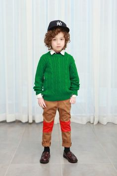 Inspiration for boys pants this fall... Bright knee patches. Perhaps in neon?? Yes!
