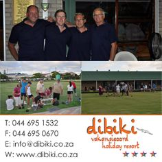 No wonder the holidays last December just flew by! Dibiki holidaymakers were really busy . On the bowling green they all put their best foot forward, Dibiki's role models had a close win. We all say Thank you for Frans and Aunty Truda who always help us - and the apron was exactly the right gift! #holidaymakers, #bowling, #activities Holiday Resort, Bowling, Role Models, Apron, Competition, December, Events, Holidays, Activities
