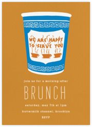 """All Cards: """"brunch"""" - Paperless Post"""