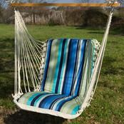 Single Cushioned Swing- Beaches Stripe by Pawleys Island Hammocks