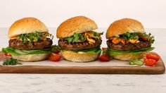 Beef,+4+Ways Top Recipes, Burger Recipes, Grilling Recipes, Cooking Recipes, Healthy Recipes, Delicious Recipes, Canadian Living Recipes, Ground Meat Recipes, Gourmet