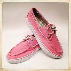 Sperry Bahama's washed pink