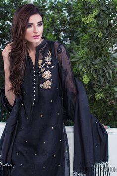 Agha Noor Eid Collection 2016 Black