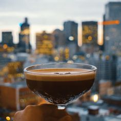 For a sweet treat, try this 1 oz Chocolate Liqueur oz Pristine Vodka Vodka 1 oz Creme de Cacao 2 oz Heavy Cream - Combine all ingredients in a cocktail shaker with ice, shake vigorously for seconds until ice cold - Strain into a martini glass and serve Coffee Cocktails, Summer Drinks, Cocktail Garnish, Cocktail Glass, Cocktail Shaker, Blue Curacao, Martinis, Gin, Cafes