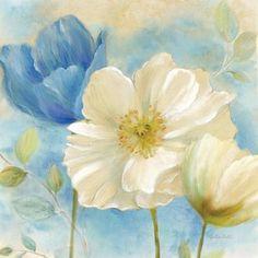 Watercolor Poppies II