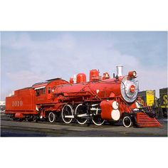 Santa Fe 1010 is a 2-6-2 type steam locomotive built by Baldwin Locomotive Works for Atchison, Topeka and Santa Fe Railway currently at the Sacramento Railroad Museum.