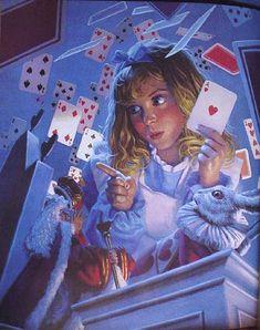 The Shower of Cards by Greg Hildebrandt