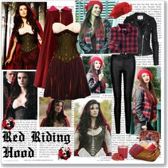 """""""Red- Of Once Upon A Time"""" by opelazar on Polyvore"""