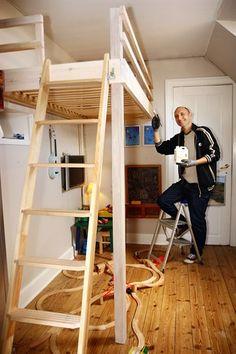 Bygning af en høj seng (køjeseng) - Handyman.dk