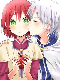 Akagami no Shirayuki-hime - Snow White with the Red Hair - Shirayuki and Zen