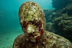 These Underwater Sculptures Will Take Your Breath Away