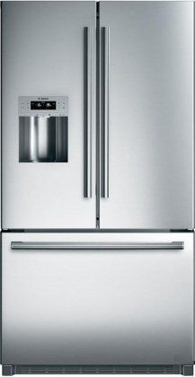Bosch B26FT70SNS 25.9 cu. Ft. 800 Series Standard Depth French Door Refrigerator - Stainelss Steel  .$2,189.00. http://www.amazon.com/gp/product/pinterest.com.vn-20/B0037X9990 We purchased a BOSCH counter-depth refrigerator (22 cu. ft.) in April of 2011 from Lowe s. On December 18, 2011 the freezer side went out completely. It took three weekends and three different service technicians to get the correct parts (the control unit and temperature sensor) for the freezer to start working again…