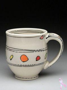 Emily Free Wilson Mug at MudFire Gallery