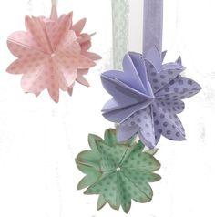 Zauberblüte mit Stanze Blütenmedaillon
