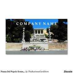 Largo di torre argentina rome italy business card italian piazza del popolo scene rome italy business card reheart Images