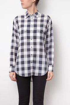Nouveautés – Deuxième édition Equipment, Button Down Shirt, Men Casual, Plaid, Collection, Mens Tops, Shirts, Fashion, Gray Shirt